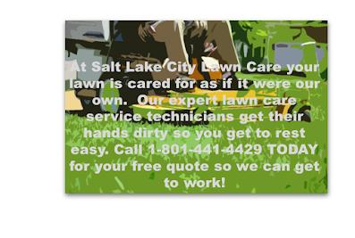 Salt Lake City Lawn Care Services