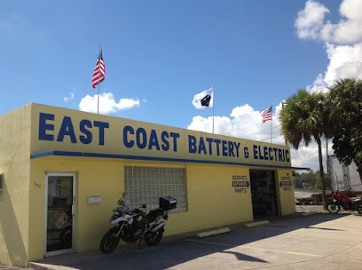 Car battery store East Coast Battery & Electric, Inc.