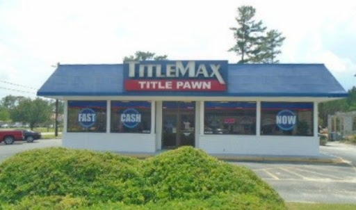 TitleMax Title Pawns, 357 S Columbia Ave, Rincon, GA 31326, Loan Agency