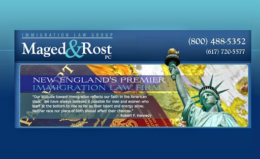 Maged and Rost, PC, Immigration Law Group, 92 State Street, 7th Floor, Boston, MA 02109, Immigration Attorney