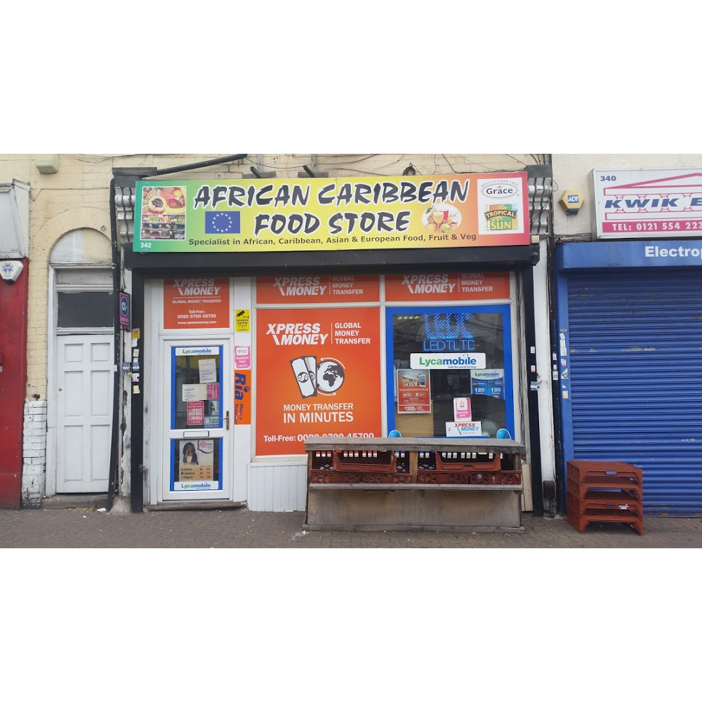 African Caribbean food store