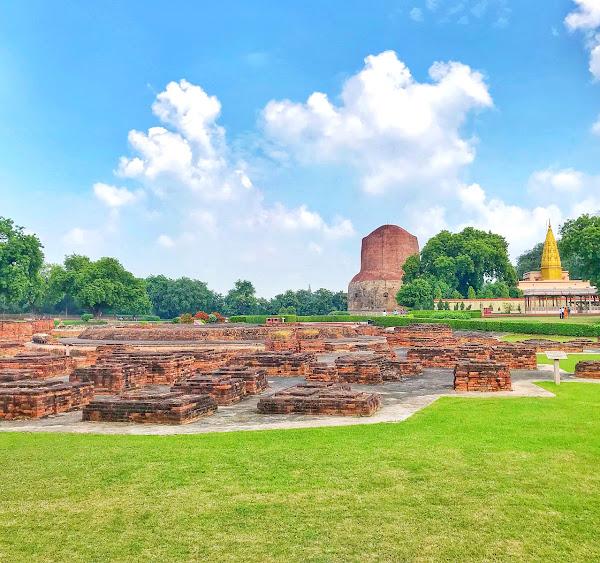 Dhamek Stupa, best place to visit in varanasi
