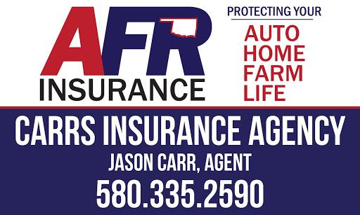 Carrs Insurance Agency LLC. in Frederick, Oklahoma