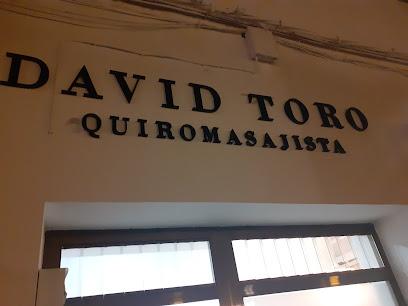 imagen de masajista Quiromasajista David toro