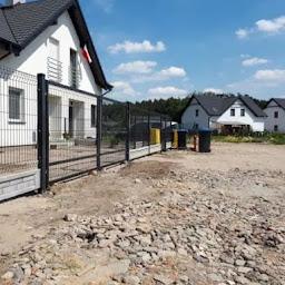 Ogrodzenia panelowe, podmurówka, Poznań/Luboń/Komorniki