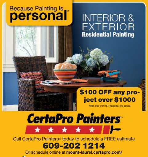 Painting «CertaPro Painters of Mount Laurel», reviews and