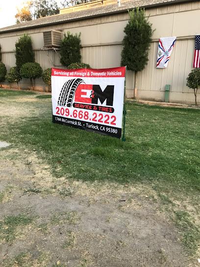 Auto repair shop E&M AUTO SERVICE AND TIRES