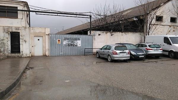 Depósito municipal de Grua