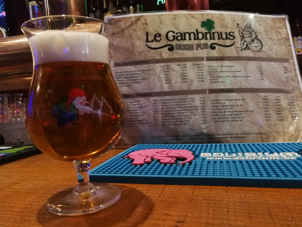 photo du resaurant Irish pub Le Gambrinus