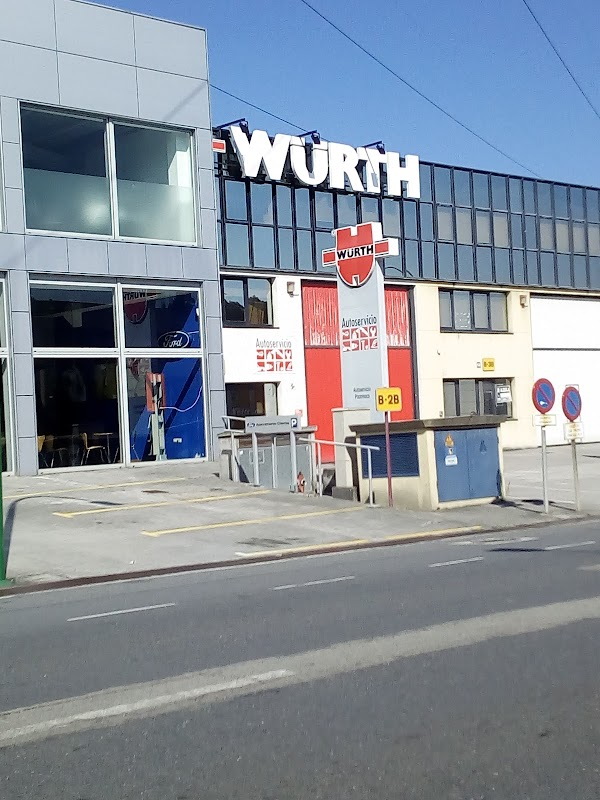 Autoservicio Würth A Coruña