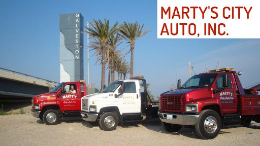 Martys City Auto, 520 44th St, Galveston, TX 77550, Towing Service
