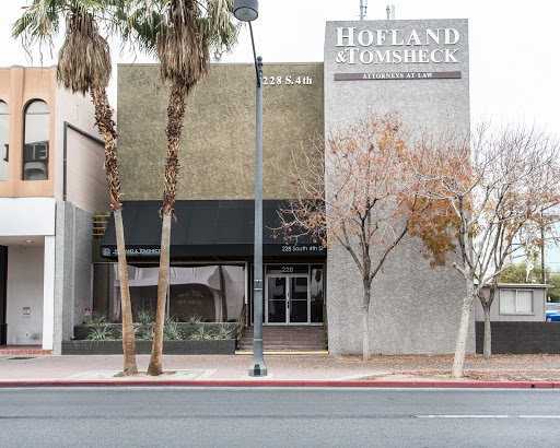 Hofland & Tomsheck, 228 S 4th St, Las Vegas, NV 89101, Law Firm
