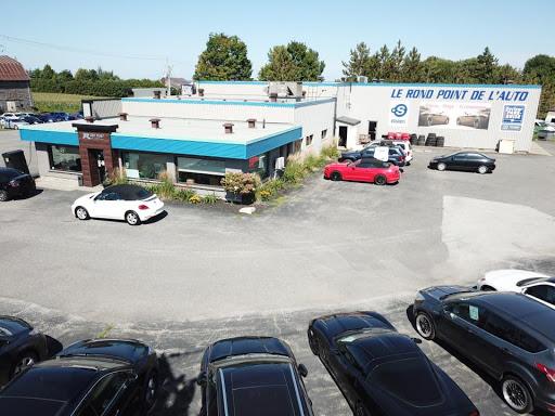 Magasin de pneus Point S - Rond Point Alignment à Plessisville (QC) | AutoDir