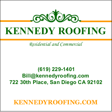 Kennedy Roofing in San Diego, California