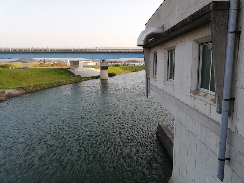 法勝寺川堰