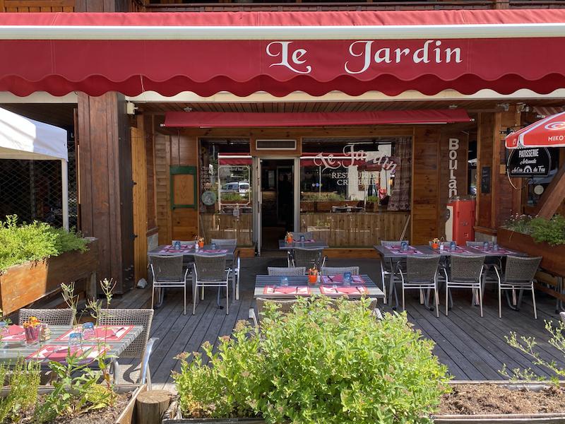 photo du resaurant Creperie Le Jardin