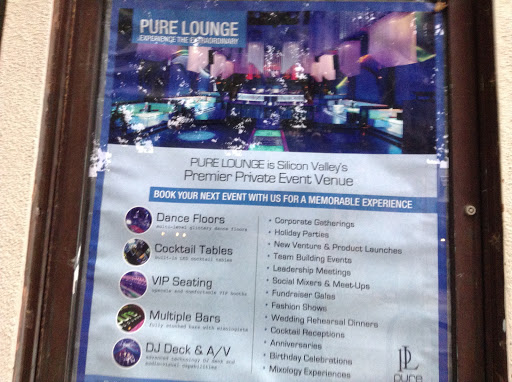 Lounge «Pure Lounge & Nightclub», reviews and photos, 146 S Murphy Ave, Sunnyvale, CA 94086, USA