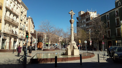 Plaça de la Creu d'Igualada