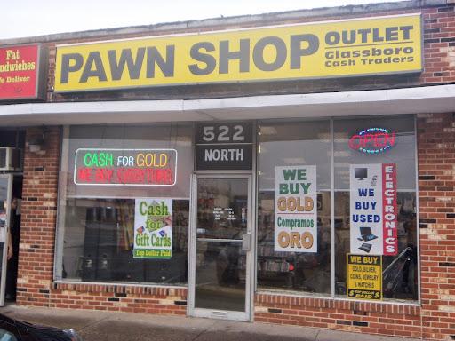 Pawn Shop «Pawn Shop Outlet of Glassboro - Cash for Gold», reviews and photos, 522 Delsea Dr, Glassboro, NJ 08028, USA