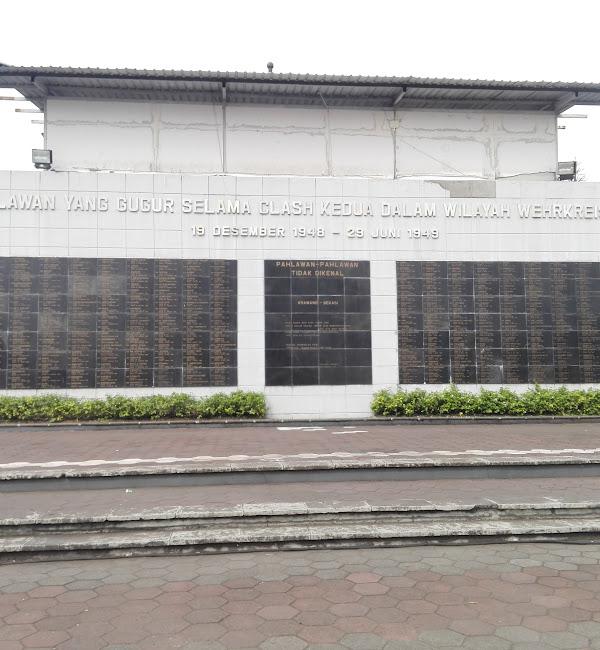 Daftar Nama Pahlawan Yang Gugur Selama Clash Kedua Dalam Wilayah Wehrkreise III (19 Desember 1948 - 23 Juni 1949)