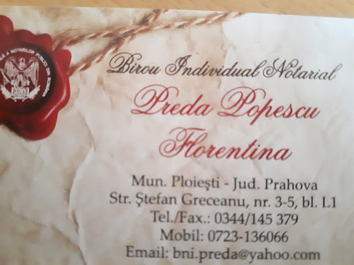 Birou Notarial Florentina Preda Popescu