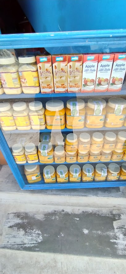Dairy store Aavin milk products