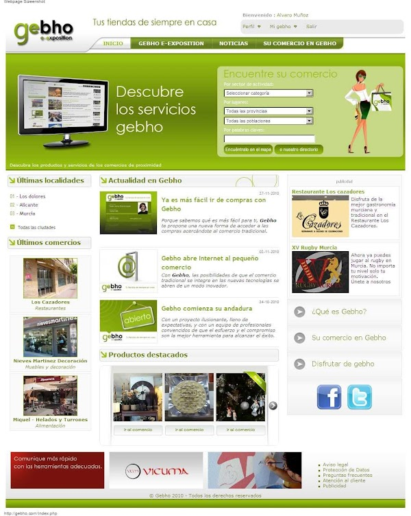 Gebho Centro Comercial Online