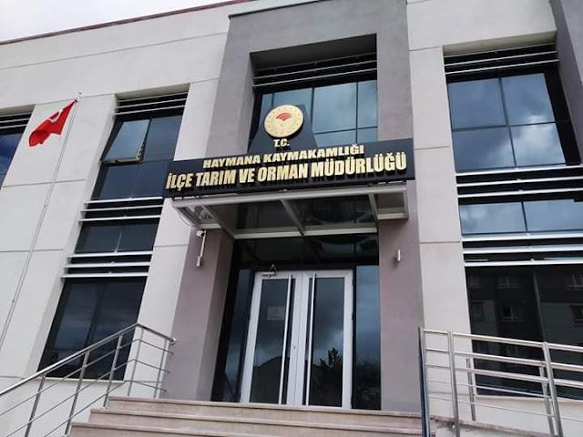 Haymana İlçe Gida Tarim ve Hayvancilik Müdürlüğü