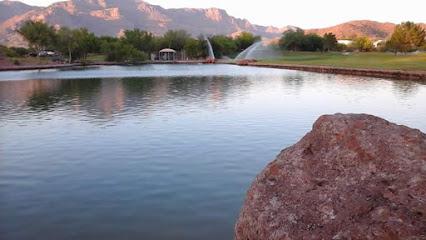 Dinosaur Mountain Lake