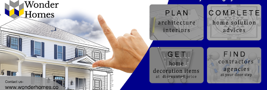 Wonder Homes- Best solutions for Home Decor Architecture Interior Designers services in Indore India