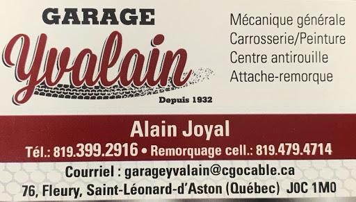 Atelier de réparation automobile Garage Yvalain à Saint-Léonard-d'Aston (QC) | AutoDir