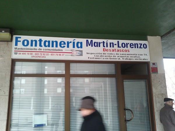 fontaneria y desatascos martin lorenzo