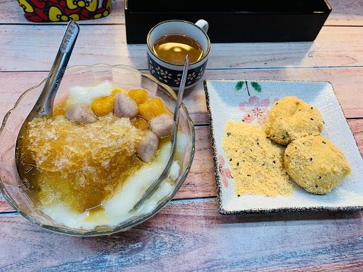 瑞芳美食廣場阿伯熱油麻糬