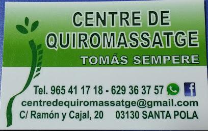 imagen de masajista Centre de Quiromassatge