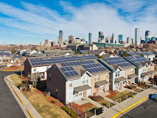 Tesla roofing in Denver, Colorado