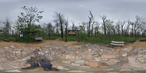 Google Photo Sphere of Magazine Mountain (Signal Hill)