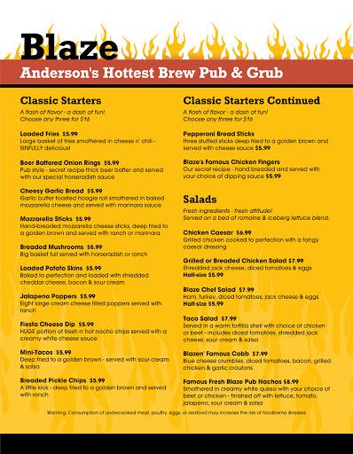 Pub «Blaze Brew Pub», reviews and photos, 1920 E 53rd St, Anderson, IN 46013, USA