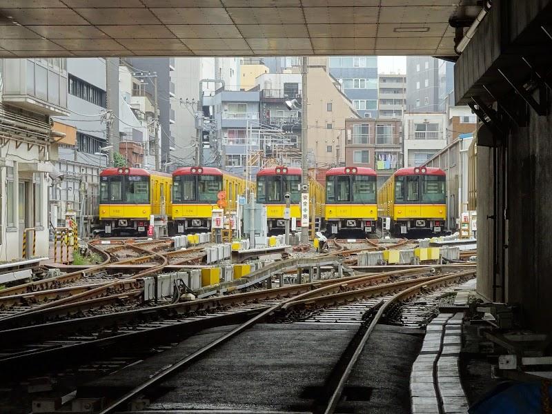 東京メトロ 上野検車区