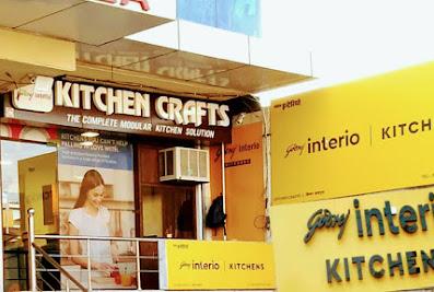 Kitchen Crafts Godrej Interio Modular Kitchen AligarhAligarh