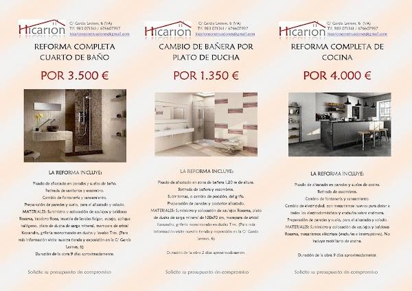 Hicarion Construcciones SL