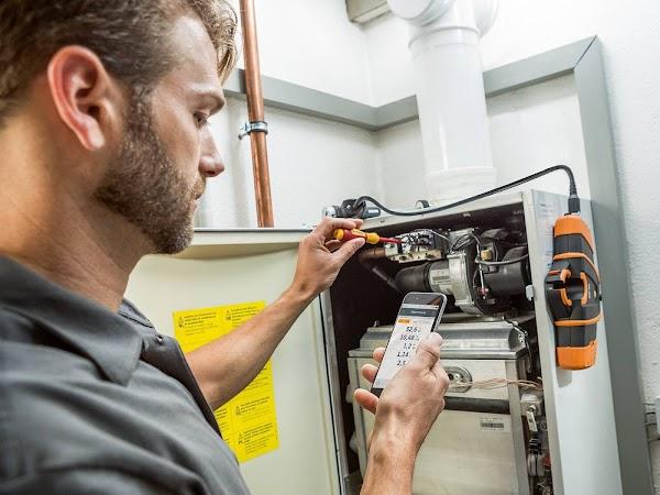 Técnico Gas  Analisis de Combustión  Reparación de Anomalias