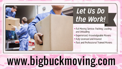 Mover «Big Buck Moving», reviews and photos