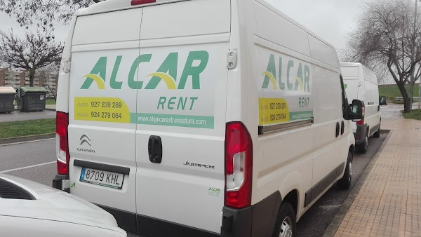 ALCAR CACERES - Alquiler de furgonetas