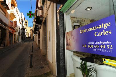 imagen de masajista Quiromassatge Carles