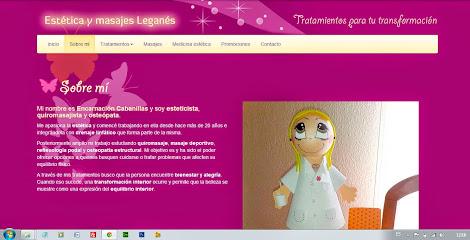 imagen de masajista Leganés aesthetics and massages