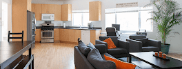 muse Treatment center in la lounge area for addiction recovery