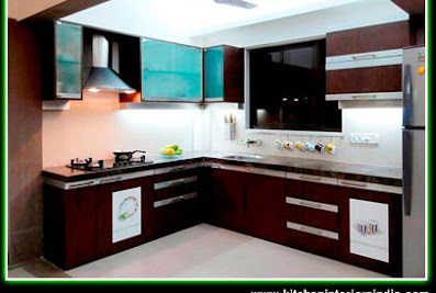 Modular Kitchen Interiors Aluminium Kitchen Office Home Furniture Interiors Ludhiana Punjab IndiaLudhiana