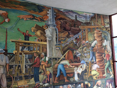 Diego Rivera Pan American Unity Mural