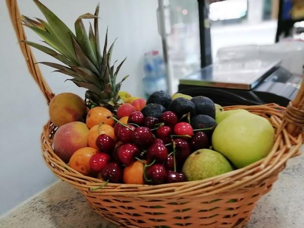 Frutas y verduras escudero