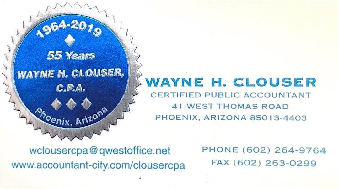 Wayne H. Clouser, CPA